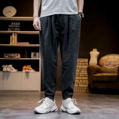 日系马切达 K2067-P35 100%聚酯纤维 2020夏季新款休闲裤 男