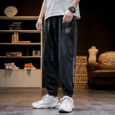 日系马切达 K2068-P35 100%聚酯纤维 2020夏季新款休闲裤 男