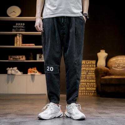 日系马切达 K2065-P35 100%聚酯纤维 2020夏季新款休闲裤 男