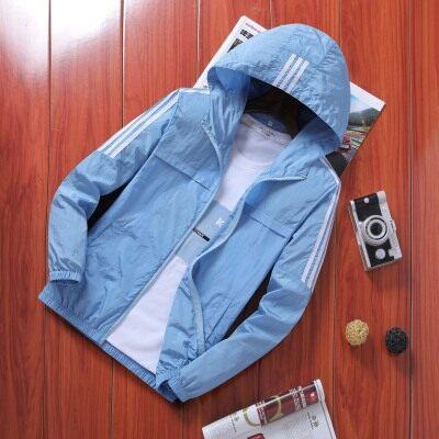防晒衣男士外套夏季薄款宽松休闲潮流韩版帅气百搭超薄透气防晒服