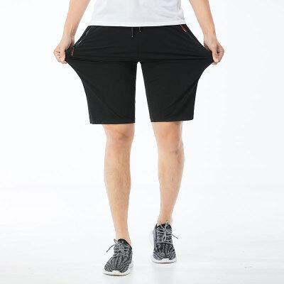 运动短裤男休闲健身速干跑步冰丝篮球裤夏季薄款宽松球裤五分潮