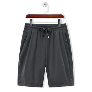 新款夏季薄款冰丝空调运动短裤子男士休闲裤透气宽松训练短裤