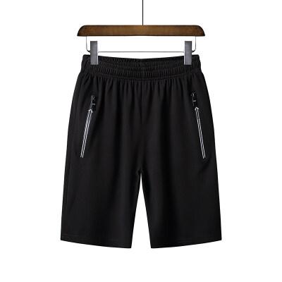 短裤男士夏季冰丝运动休闲五分潮流宽松大裤衩薄款速干大码中裤子