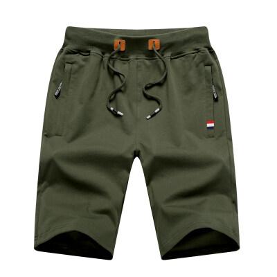 档口现货短裤纯棉纯色搭配短袖运动裤搭配套装工装跨境休闲裤