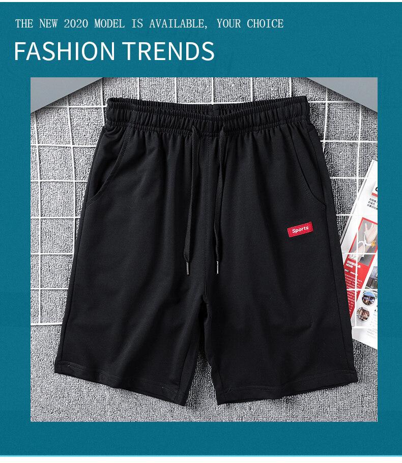 961  963时尚休闲运动男士短裤男宽松2020夏季五分裤休闲裤