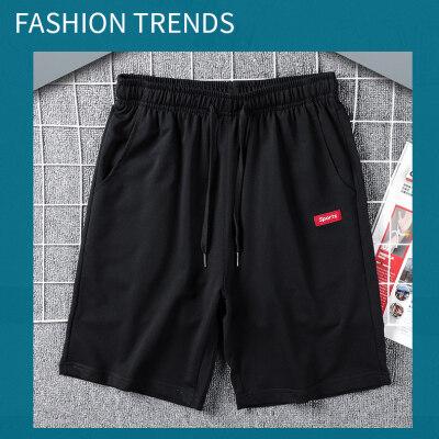 时尚休闲运动男士短裤男宽松2020夏季五分裤休闲裤
