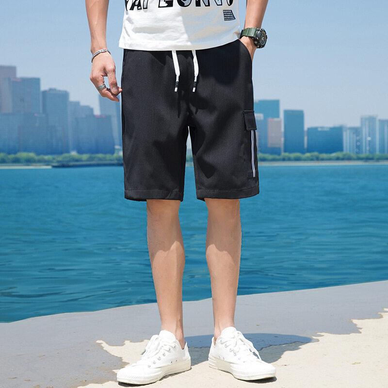 511工装裤五分短裤男装2020夏季新款韩版时尚薄款潮流学生工装短裤