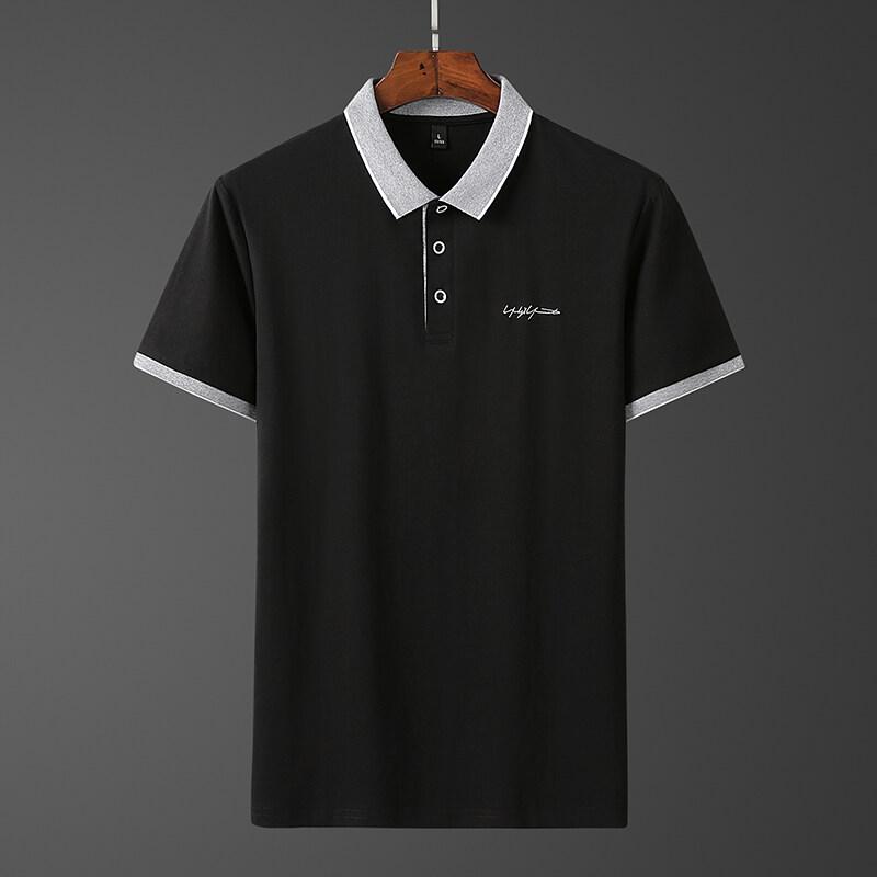 P125品客年代男士短袖T恤男士Polo衫P125爆款短袖翻领T恤