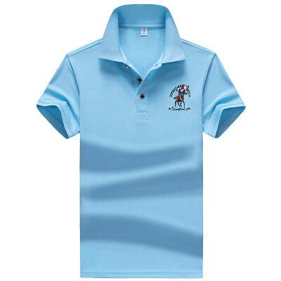 男士polo衫短袖t恤春夏季新款翻领半袖打底衫上衣服潮流体恤
