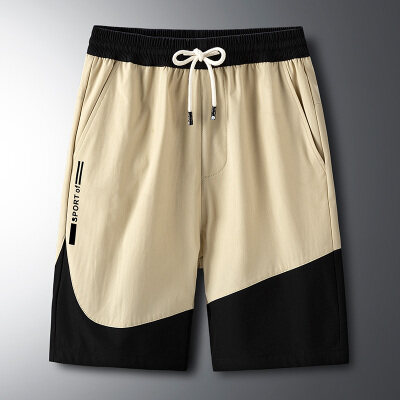 夏季休闲士大码ins短裤男运动篮球裤宽松5五分裤子潮小码链接