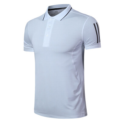 品牌新品短袖男2020夏季新款速干运动POLO衫透气翻领T恤