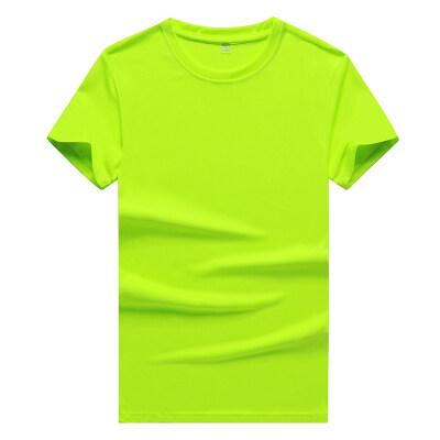 网眼透气速干衣t恤夏季男士冰丝短袖男宽松加肥加大码胖子运动潮