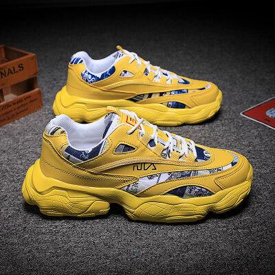 满足【815】爆款老爹鞋三色米色黄色白色39-44批42