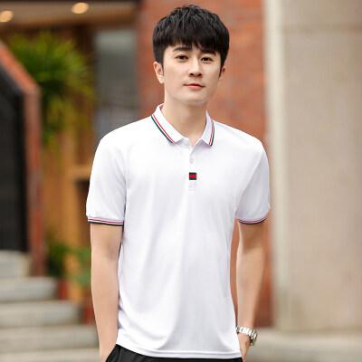 情侣款POLO衫韩版男装短袖T恤夏季新款男士衬衫领体恤
