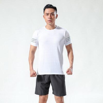 短袖男2020夏季新款跑步高速干体恤训练运动半袖T恤8330