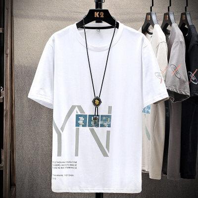 t恤男夏季短袖韩版潮流男装运动休闲时尚帅气夏装上衣