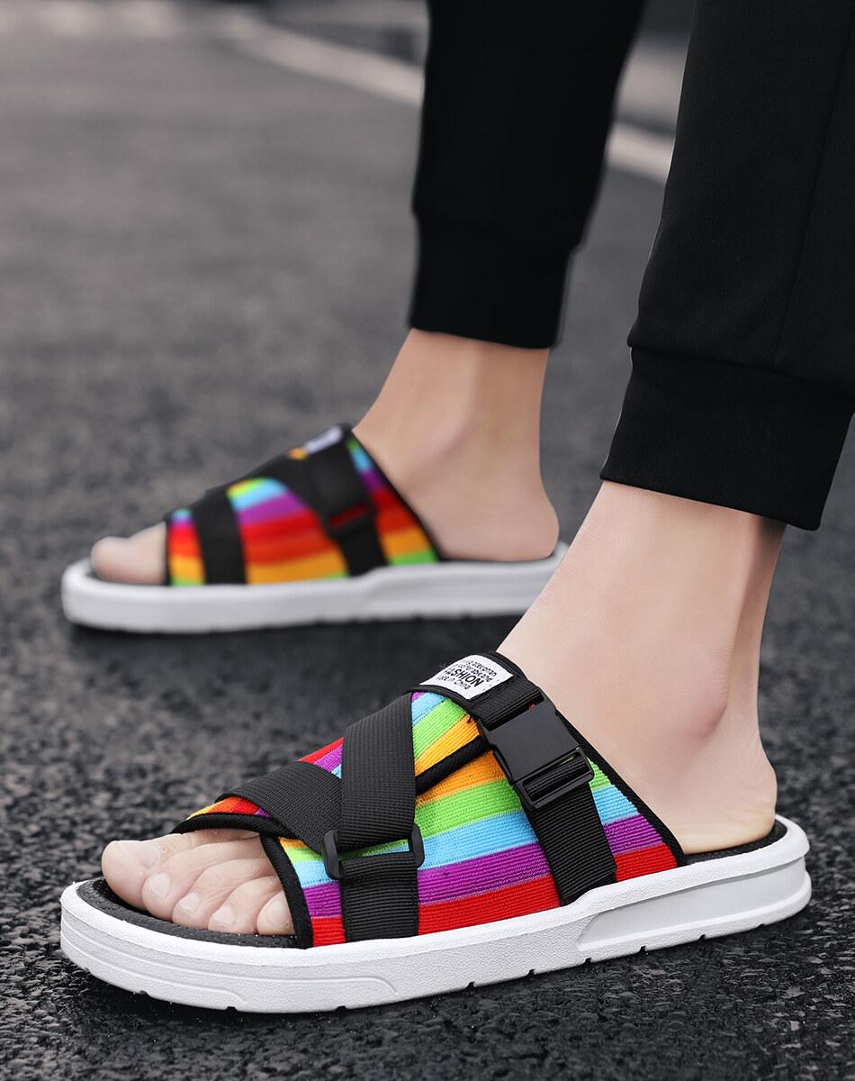 LKD-662020新款拖鞋夏季外穿时尚网红凉拖鞋软底潮流韩版个性一字拖