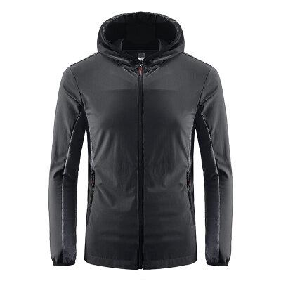 户外男装2020新款冰丝防晒衣男士外套夏季超薄款透气防晒服男
