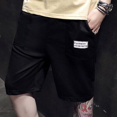 男士短裤夏季2021新款潮流宽松外穿运动休闲五分裤