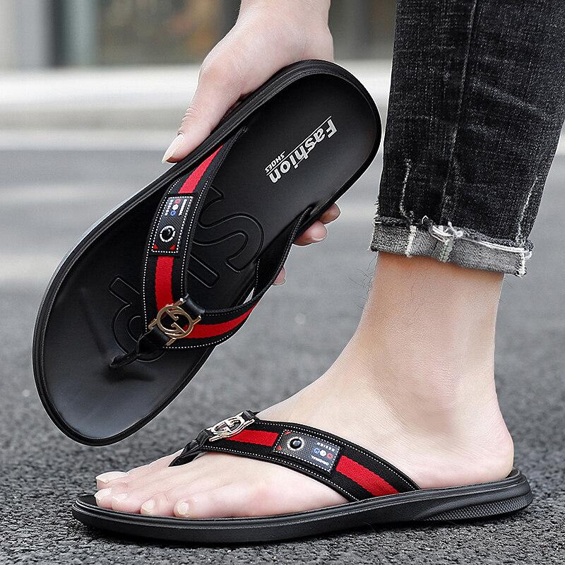 F49韩版人字拖时尚拖鞋室外凉鞋沙滩鞋
