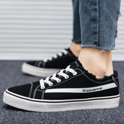 四季金典款帆布鞋学生运动休闲潮鞋子透气男鞋