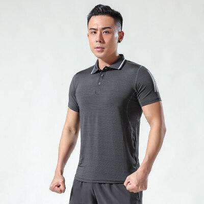 夏天新款男士短袖T恤韩版宽松纯色冰丝体恤莫代尔半袖打底衫上衣