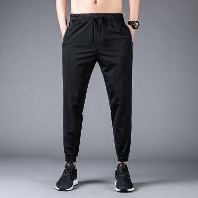 M-5XL2020夏季空调裤休闲裤男士空调裤弹力大码运动裤