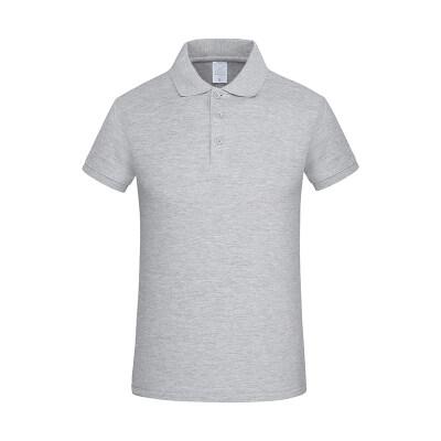 男士短袖t恤2020夏季新款polo衫中年爸爸体恤打底男