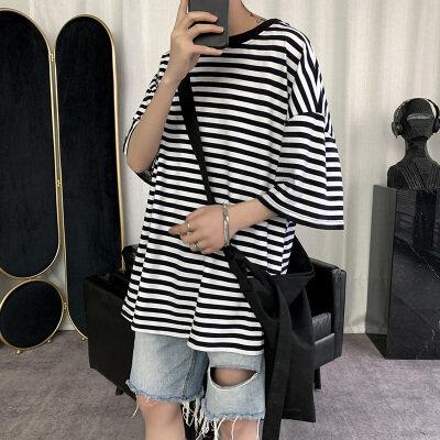 短句-Z   T00803-P35  95%棉5%氨纶    2020夏季新款短袖男