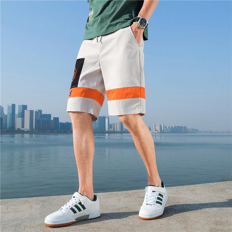 DF-5款短裤2020夏季国风短裤 潮流5分裤 沙滩裤 青年时尚短裤