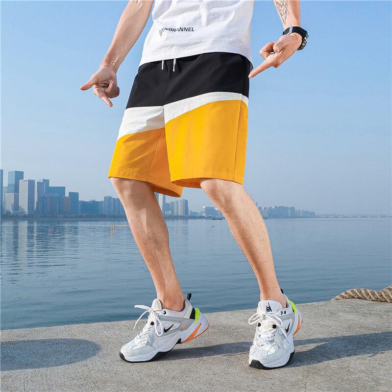 DF-6款短裤2020夏季国风短裤 潮流5分裤 沙滩裤 青年时尚短裤