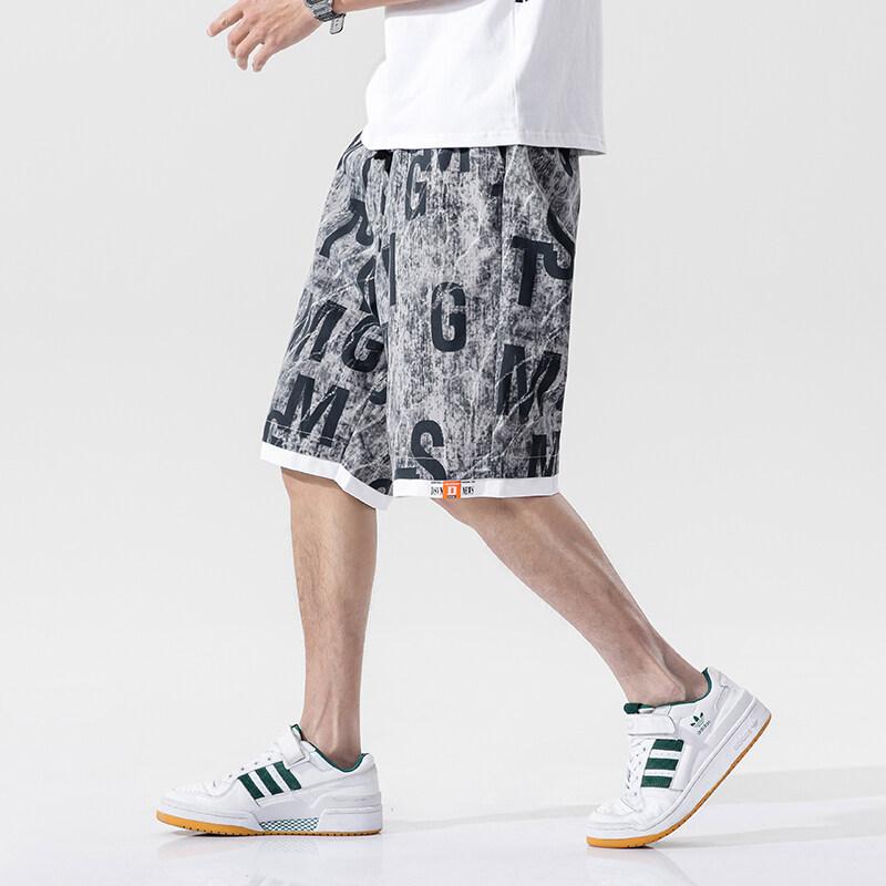 G-735短裤男士夏季潮牌沙滩裤韩版潮流薄款五分裤子2020新宽松七分