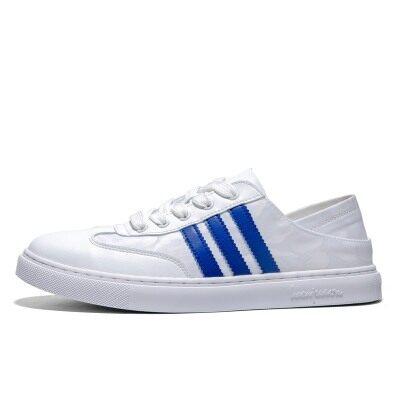 高质量平底休闲板鞋气质款街拍春季百搭韩版时尚青年学生小白鞋男