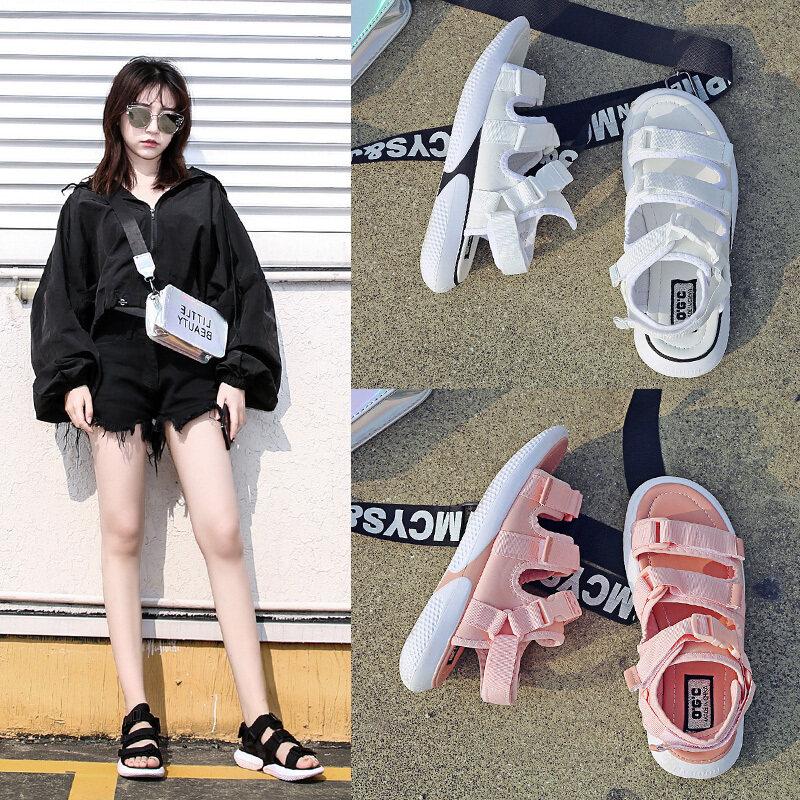 凯翔503运动凉鞋女2020年新款软底轻便网红超火百搭夏季魔术贴沙滩鞋