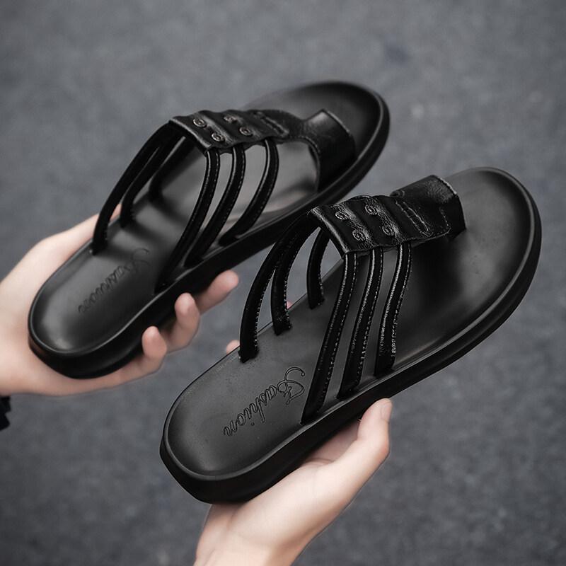 2209人字拖男夏季2020新款拖鞋室外外穿潮流防滑凉鞋越南凉拖个性