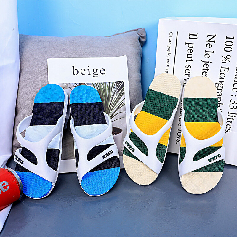 927四季供货 带鞋盒 高品质拖鞋男沙滩鞋男一字拖鞋男套脚拖鞋男
