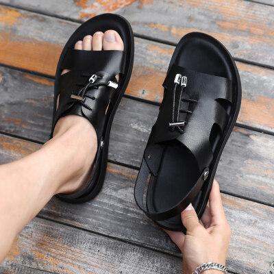 凉鞋男2020新款夏季男鞋沙滩鞋青年潮流百搭休闲凉拖鞋外穿