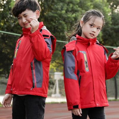 男童外套春秋季2020新款韩版男孩中大童儿童洋气夹克冲锋衣上