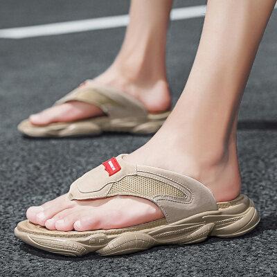 长红6551夏季人字拖沙滩鞋凉鞋39-44-38元