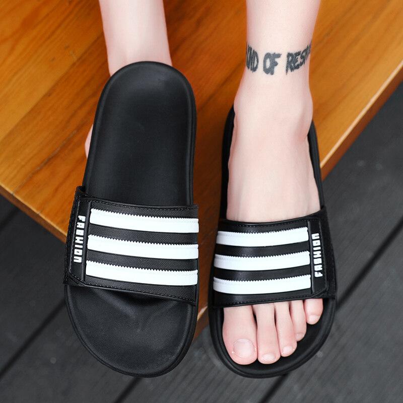 L15唯一夏季主推爆款L15三杠休闲时尚户外沙滩网红一字拖鞋凉鞋