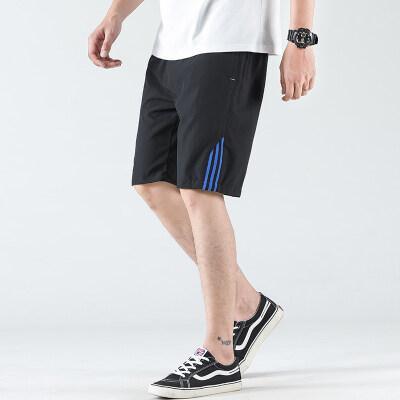 短裤男2020夏季新款运动透气跑步五分裤梭织休闲男裤
