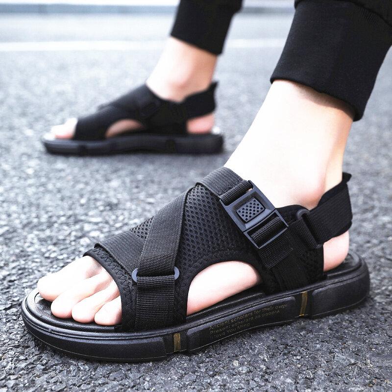 0926夏季悟道凉鞋拖鞋两用室外穿沙滩鞋潮流时尚男士凉拖鞋男户外