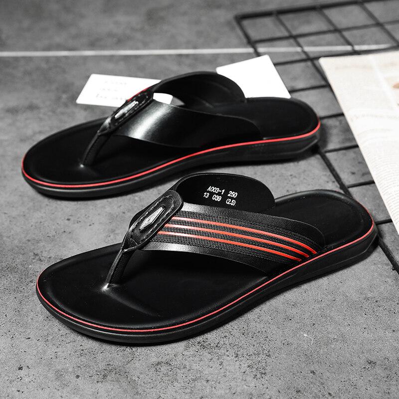 003妙峰夏季透气拖鞋男室外拖鞋凉拖耐穿夹脚