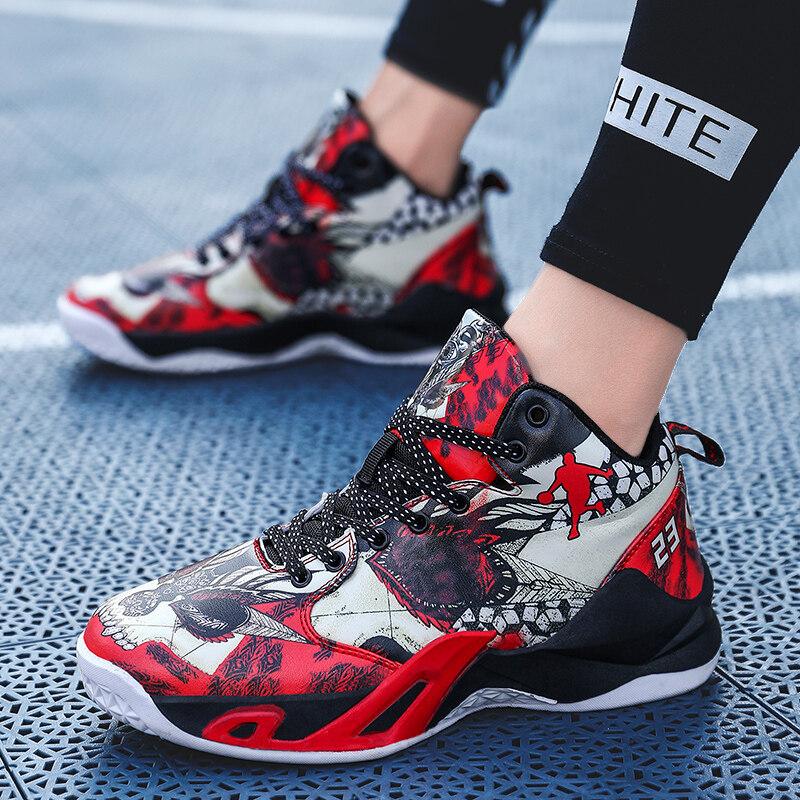 8016安马爆款运动篮球鸳鸯战靴