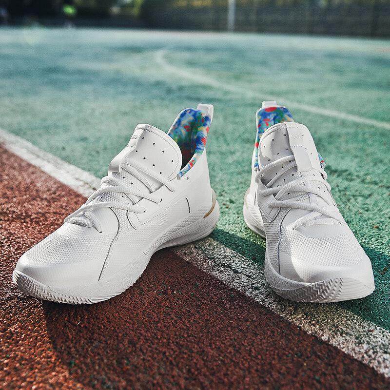 123全拼鞋业123款库里7代橡胶底篮球鞋