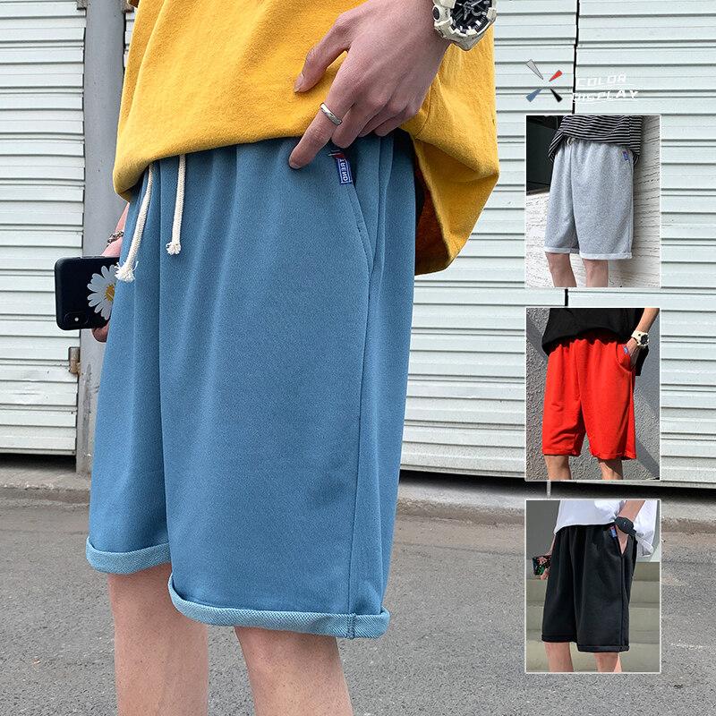 DK7101DK7101男士韩版潮流夏季潮牌外穿宽松五分休闲裤