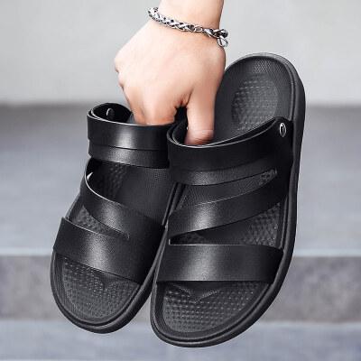 【启德】双色沙滩轻便凉鞋626(40-45)P15