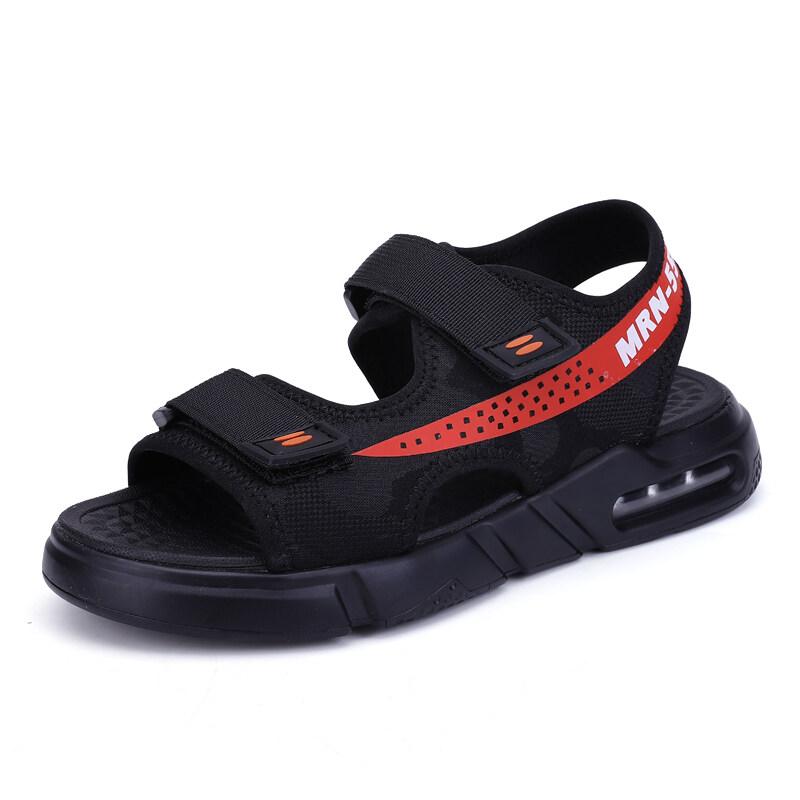 20195九牧林 新款时尚透气夏季气垫凉鞋沙滩鞋