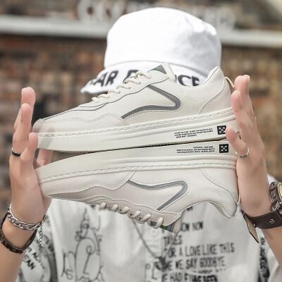 欧牧者072 新款时尚百搭小白鞋运动休闲男鞋