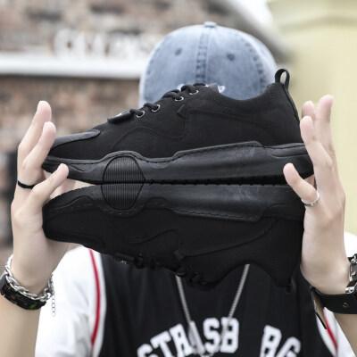 欧牧者TS618 夏季冰丝帆布鞋运动休闲潮鞋子透气男鞋